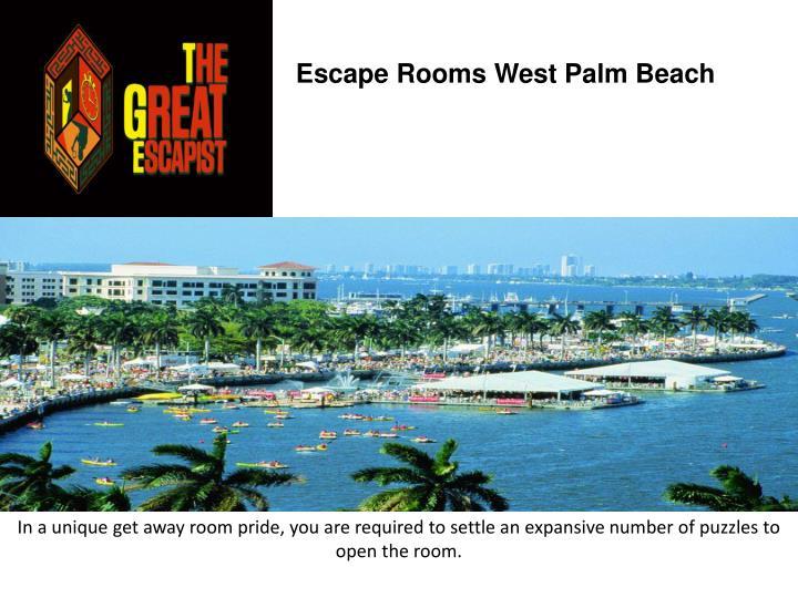 Escape rooms west palm beach