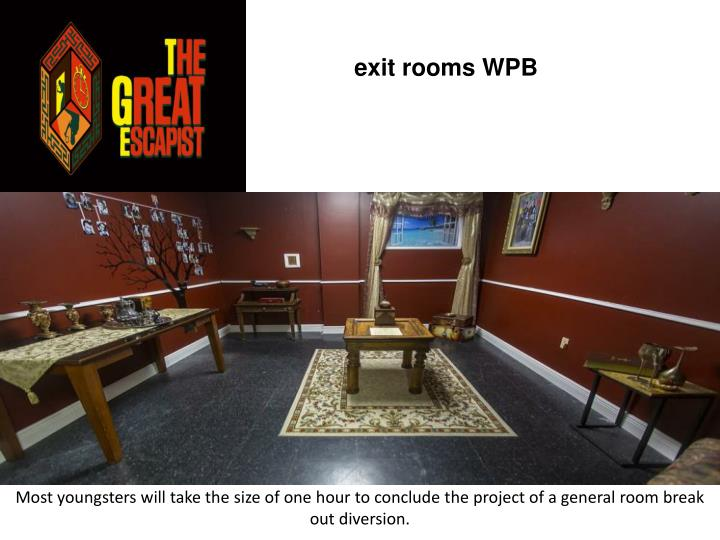 Exit rooms wpb