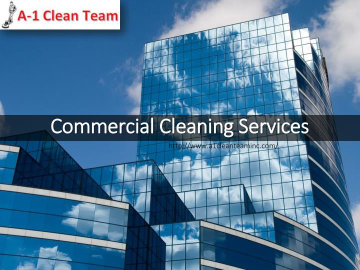 commercial cleaning services n.