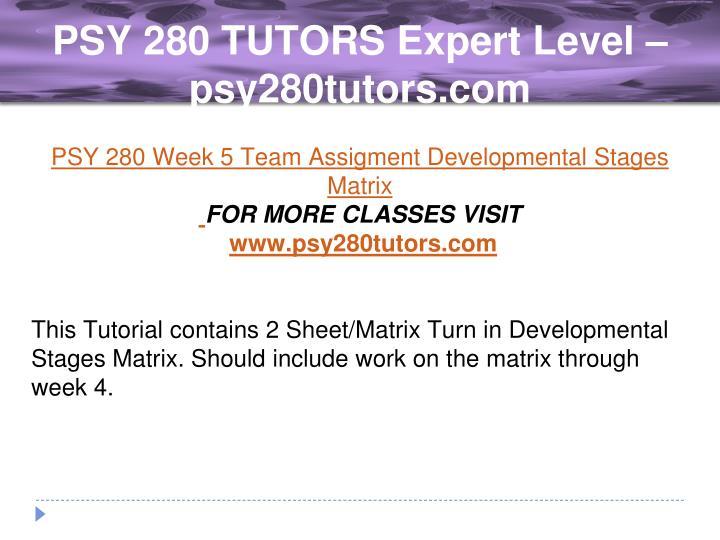 developmental stages matrix 2 essay Entire course download link psy 375 week 5 developmental stages matrix developmental stages matrix resource: developmental stages matrix located in week two.