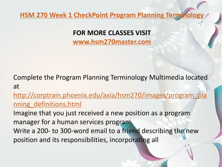 hsm 270 scenario evaluation plan madison children s hospital Hsm 270 checkpoint grants in human  by debwalden568 60 views published on oct 30, 2015 hsm 270 assignment scenario evaluation plan  published in: education 0 comments.