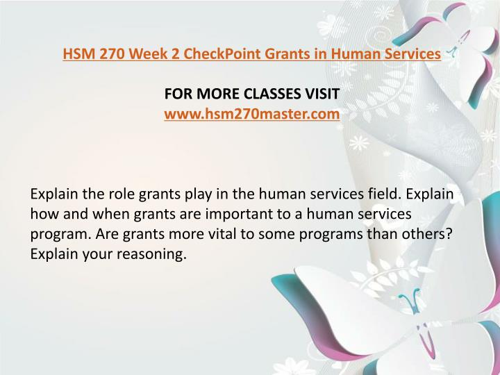 """what role do grants play in the human services field The challenge is to get human services organizations to wake up and build a bigger tent,"""" said condeluci in an era of reduced funding and increasing need, human services nonprofits around the country are responding to funder demands to create sustainable change and achieve greater impact."""