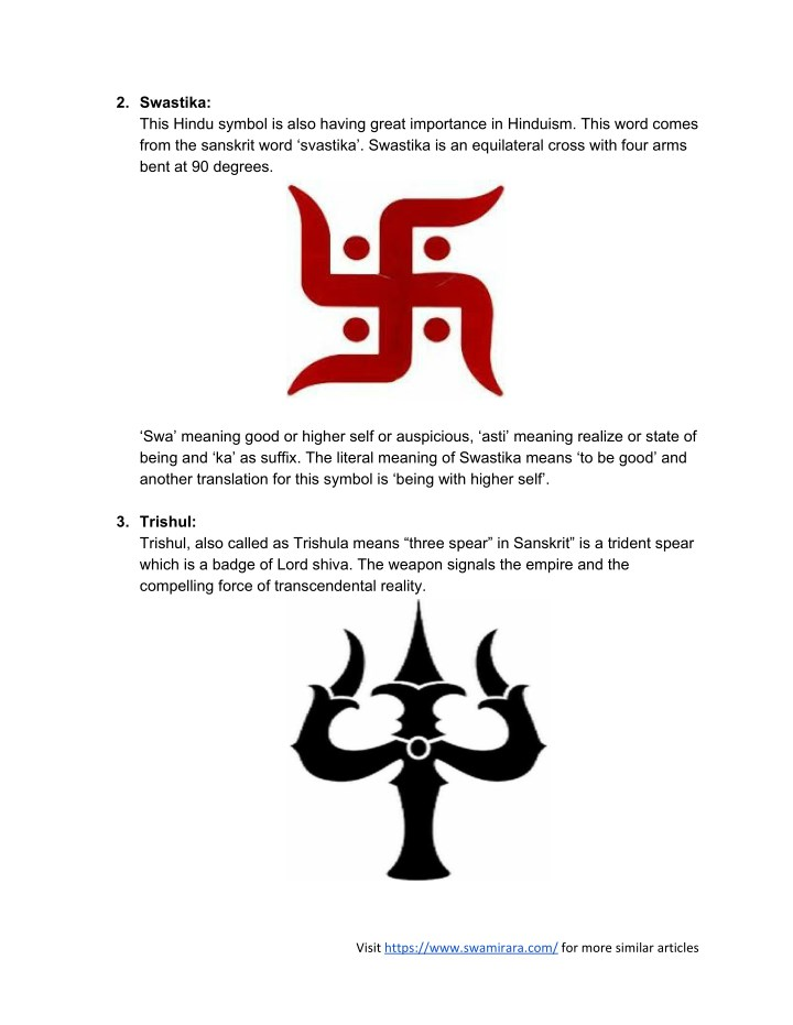 Ppt Nitty Gritty Of Popular 25 Hindu Symbols Powerpoint