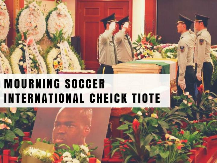 mourning soccer international cheick tiote n.