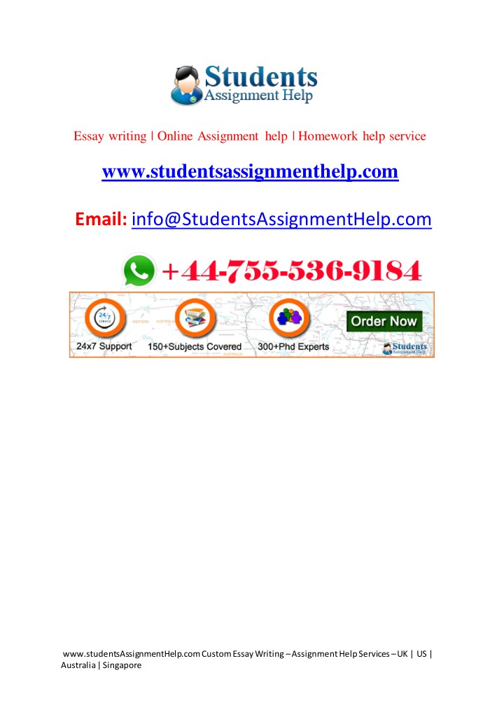 Online assignment writing help topics