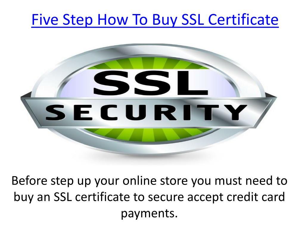 Ppt Buy Ssl Certificate Powerpoint Presentation Id7607007