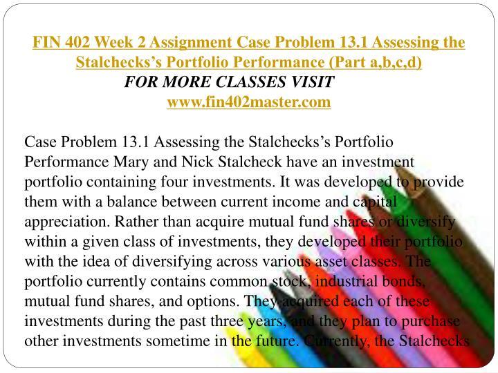 case assignment week 2