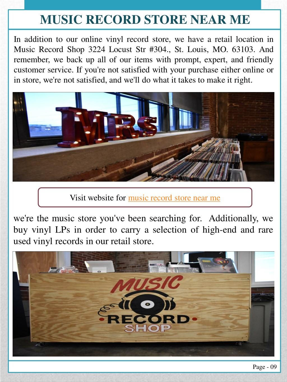 PPT - Vinyl Records Saint Louis PowerPoint Presentation - ID
