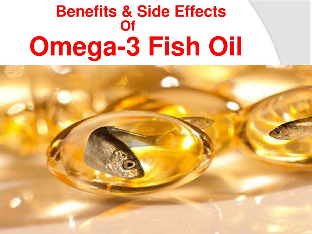 omega 3 pills side effects