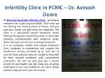 infertility clinic in pcmc dr avinash deore