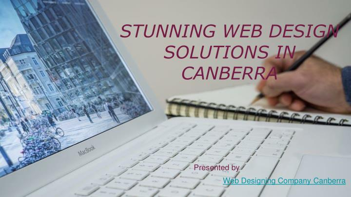 Stunning web design solutions in canberra