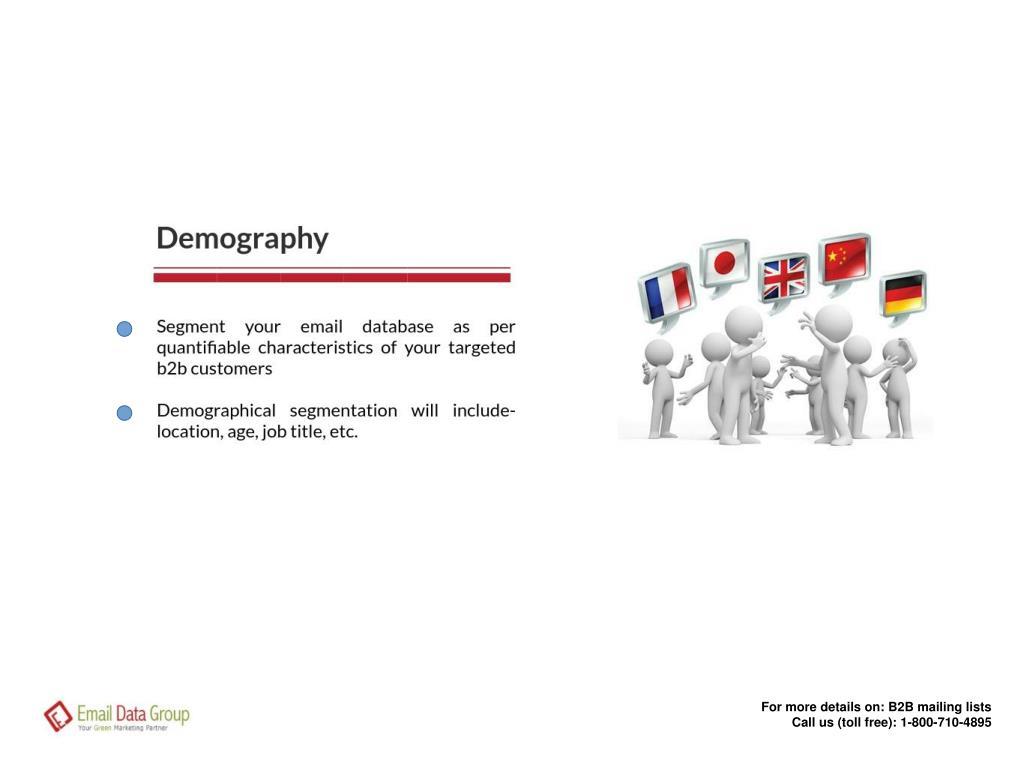 PPT - B2B Email Lists Segmentation PowerPoint Presentation