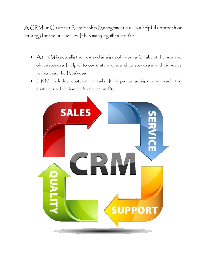 significance of customer relationship management in