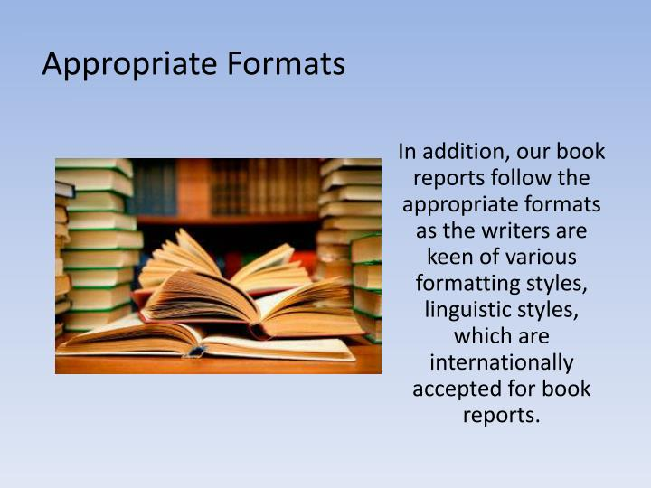 Report writing service notes ppt