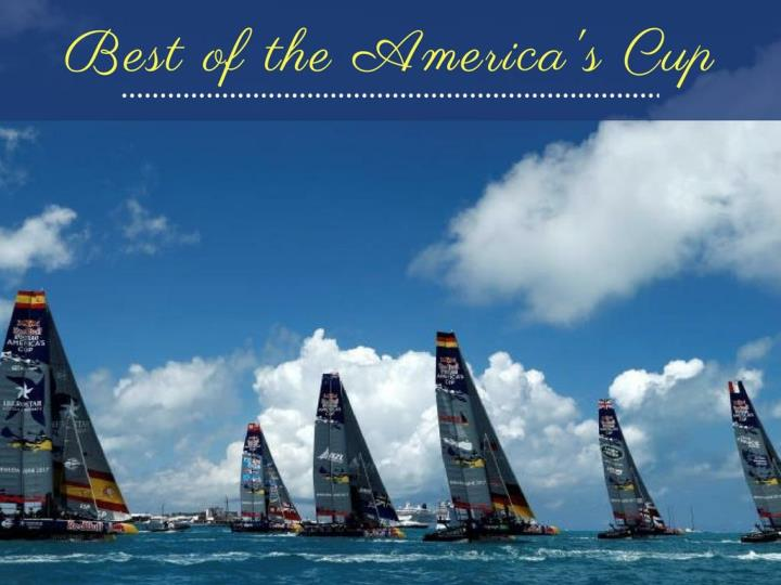 best of the america s cup n.