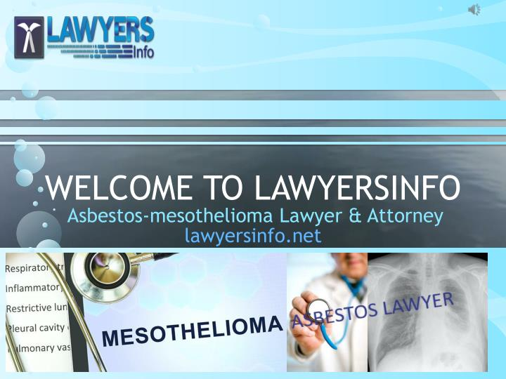 welcome to lawyersinfo n.