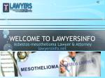 welcome to lawyersinfo
