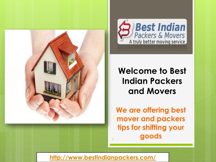 welcome to best indian packers and movers n.