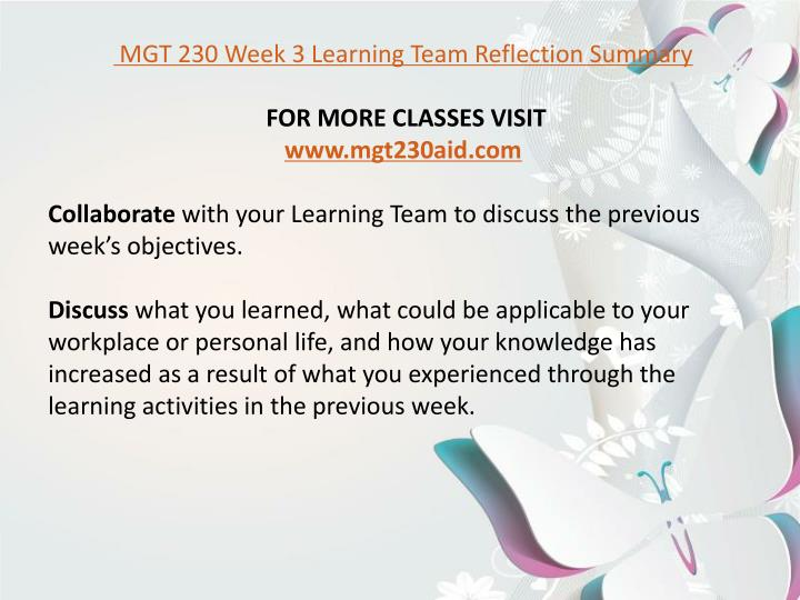 mgt 230 reflection summary 8 in the _____ stage of the planning process, managers should weigh the advantages, disadvantages, and potential effects of each mgt 230 final exam alternative goal and plan a goal and evaluation b goal and plan selection.
