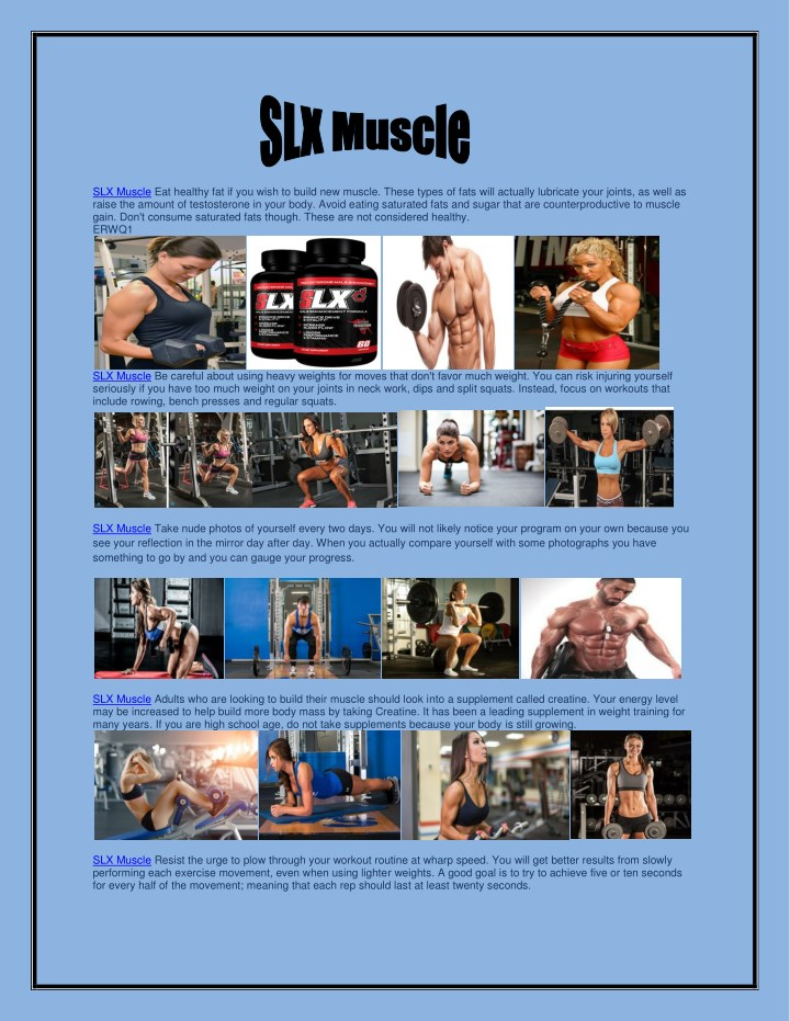 slx muscle eat healthy fat if you wish to build n.