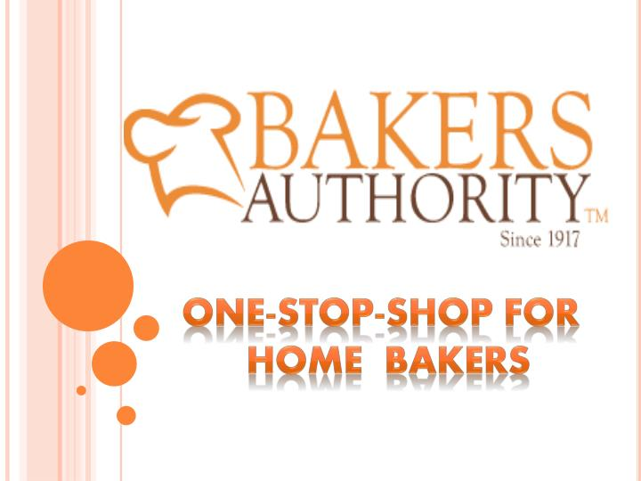 one stop shop for home bakers n.