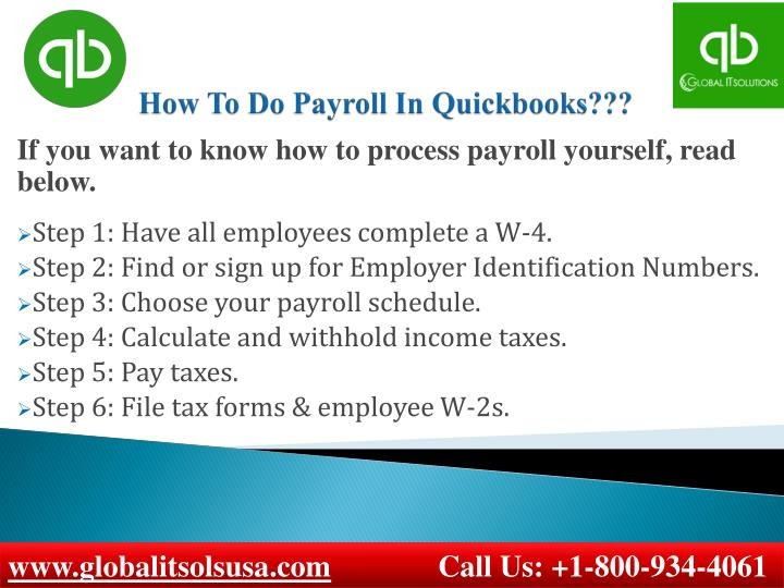 PPT - How To Do Payroll In Quickbooks? PowerPoint ...