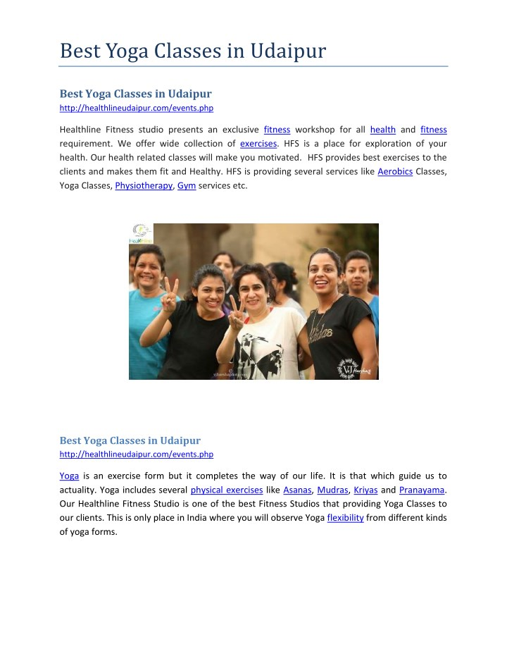 best yoga classes in udaipur n.