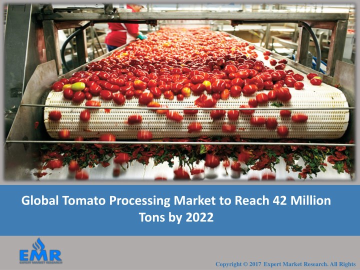 global tomato processing market to reach n.
