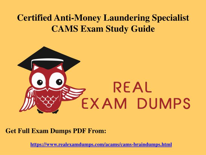 certified anti money laundering specialist cams n.