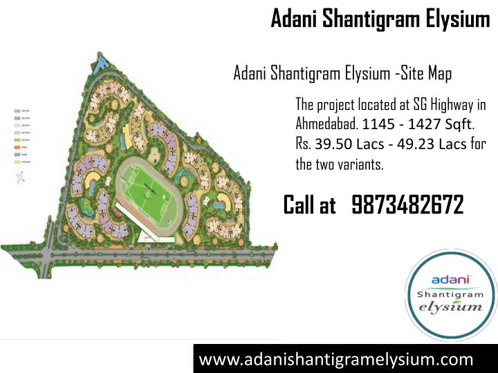 Ppt Adani Shantigram Elysium Residential Apartments In