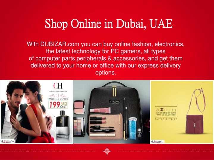 Online shopping portals in uae