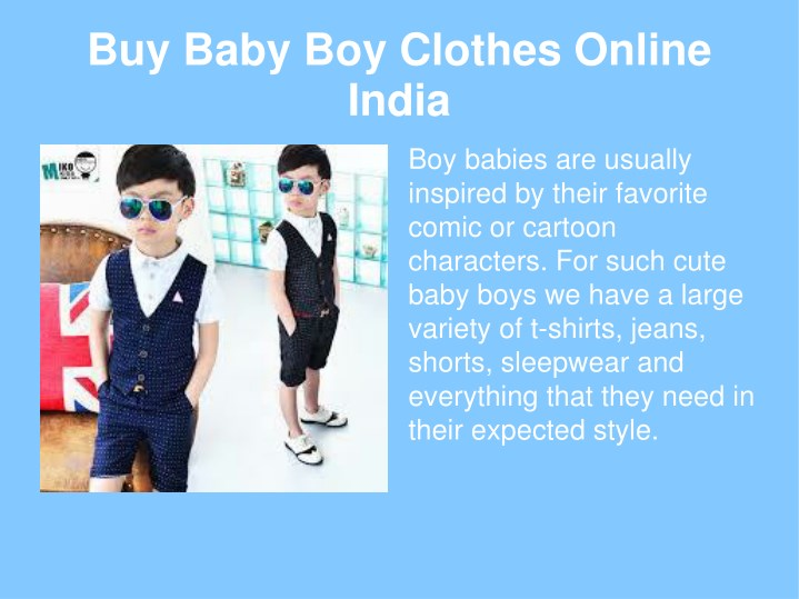 002040bf4cd4 PPT - baby wear online India PowerPoint Presentation - ID 7615187