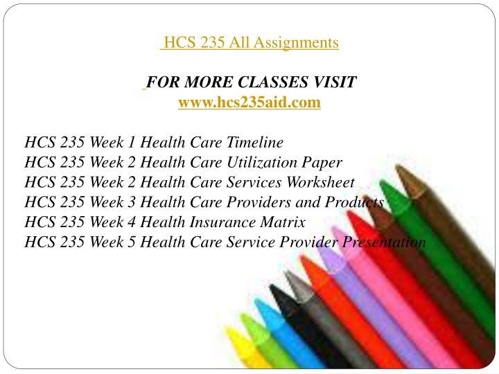 hcs 235 utlization paper