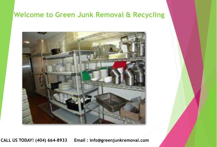 welcome to green junk removal recycling n.
