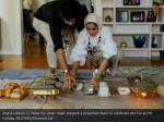 abdul udayni l helps his sister hajar prepare