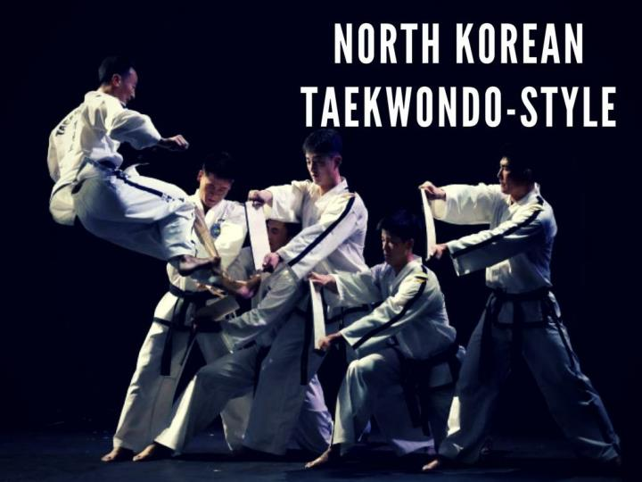 north korean taekwondo style n.
