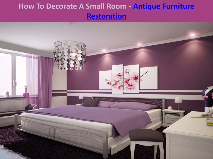 how to decorate a small room antique furniture n.