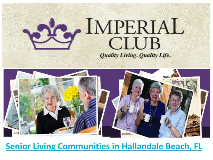 senior living communities in hallandale beach fl n.
