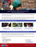 ppt laser tag party ideas kids party hire powerpoint presentation