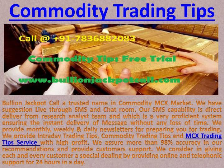 commodity trading tips n.