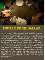 escape room dallas