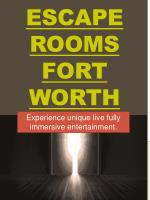 escape rooms fort worth