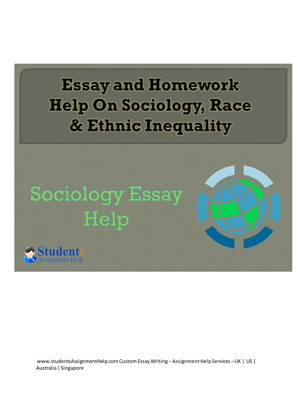 Custom sociology essays