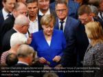german chancellor angela merkel and members
