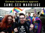 german lawmakers approve same sex marriage