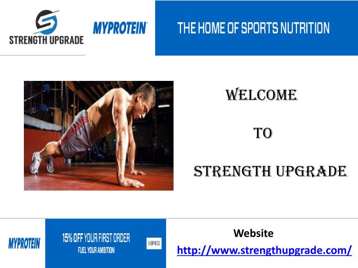 welcome to strength upgrade n.
