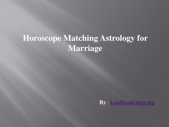 horoscope matching astrology for marriage n.