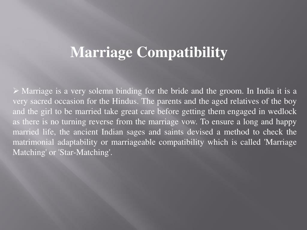 PPT - Horoscope Matching Astrology for Marriage PowerPoint