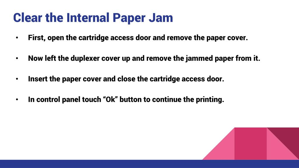 PPT - Fix HP Officejet 4650 Paper Jam Issues PowerPoint Presentation