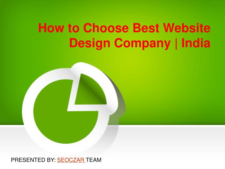 how to choose best website design company india n.